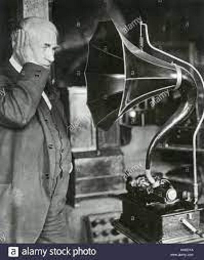 who invented gramphones
